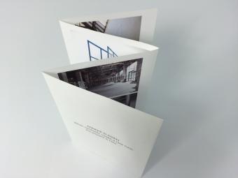 4-luik folder