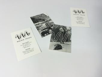 Naamkaartjes | zwart/wit
