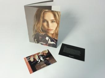 Brochure + cadeaubon + cheques
