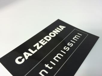 Naamkaartje | Glans recto laminaat | Verso kartonstructuur